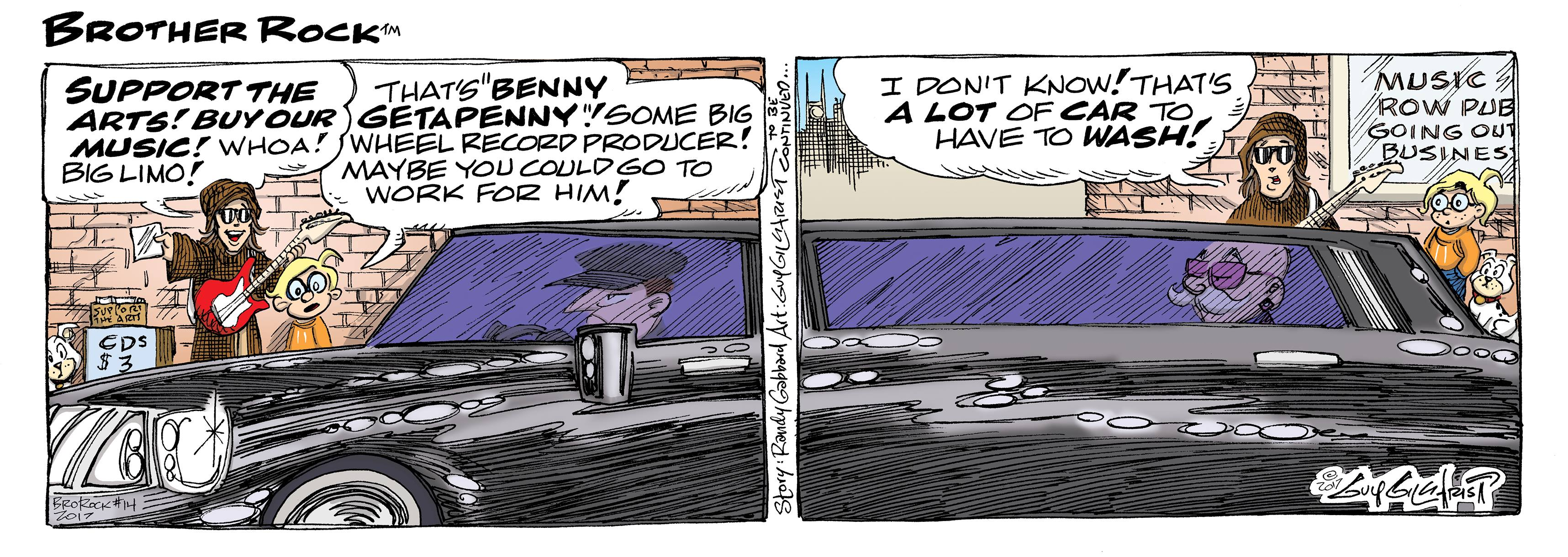 The Strip – Randy Gabbard's Brother Rock
